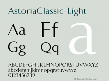 AstoriaClassic-Light