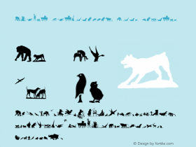 Animal Silhouettes Four