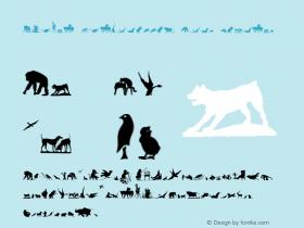 Animal Silhouettes Four