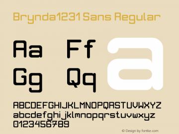 Brynda1231 Sans