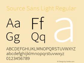 Source Sans Light