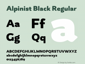 Alpinist Black