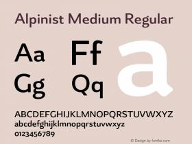 Alpinist Medium