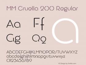 MM Cruella 200