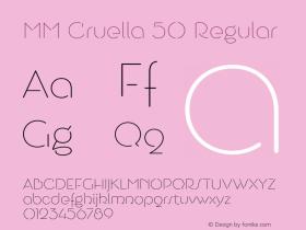 MM Cruella 50