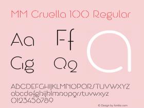 MM Cruella 100