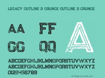 Legacy Outline 2 Grunge