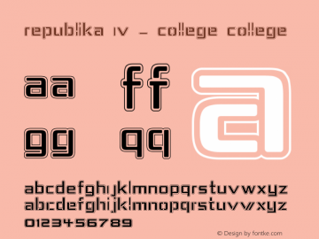 Republika IV - College