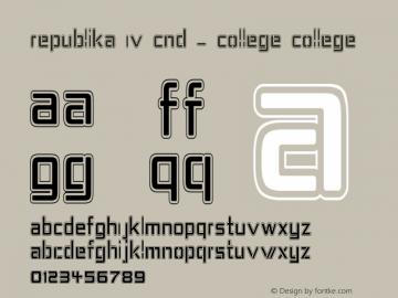 Republika IV Cnd - College