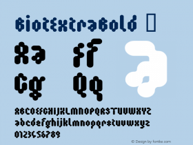 BiotExtraBold