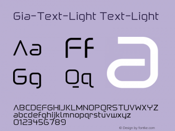 Gia-Text-Light