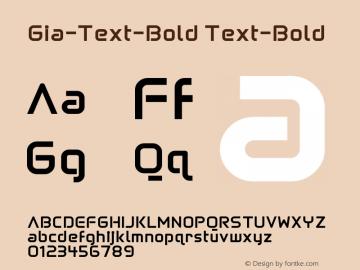 Gia-Text-Bold