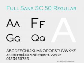 Full Sans SC 50