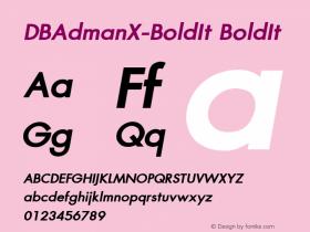 DBAdmanX-BoldIt