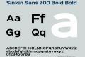 Sinkin Sans 700 Bold