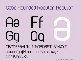 Cabo Rounded Regular