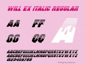 Will Ex Italic