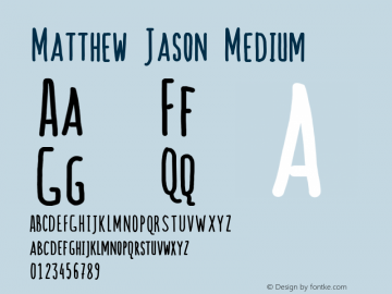 Matthew Jason
