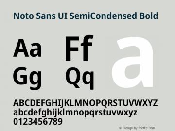 Noto Sans UI SemiCondensed