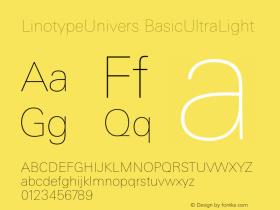 LinotypeUnivers