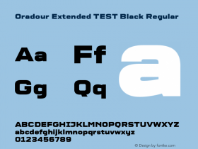 Oradour Extended TEST Black