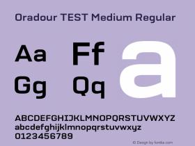 Oradour TEST Medium