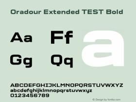 Oradour Extended TEST