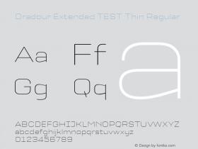 Oradour Extended TEST Thin