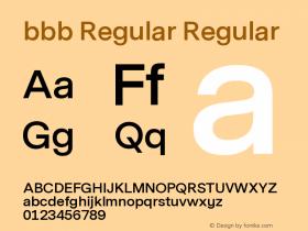 bbb Regular