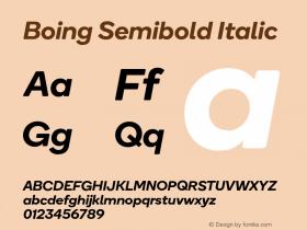 Boing Semibold