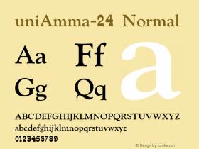 uniAmma-24