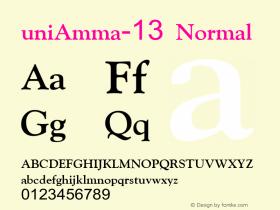 uniAmma-13