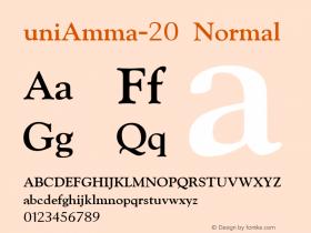 uniAmma-20