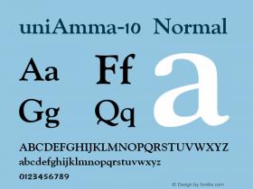 uniAmma-10