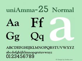 uniAmma-25