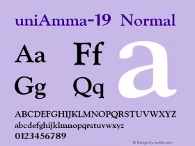 uniAmma-19