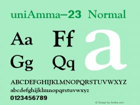 uniAmma-23