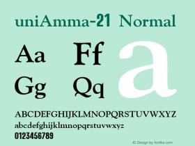 uniAmma-21