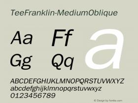 TeeFranklin-MediumOblique