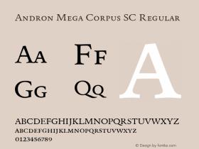 Andron Mega Corpus SC