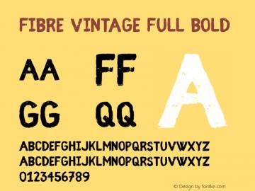 Fibre Vintage Full