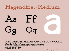 Magendfret-Medium