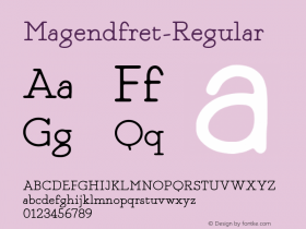 Magendfret-Regular