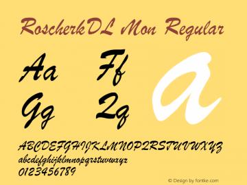 RoscherkDL Mon