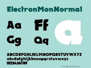 Electron Mon
