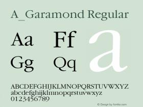 A_Garamond