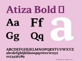 Atiza Bold