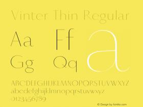 Vinter Thin