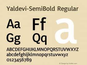 Yaldevi-SemiBold