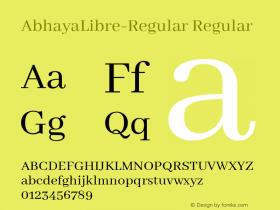 AbhayaLibre-Regular